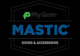 Siding brands: PlyGem Mastic Siding & Accessories Logo