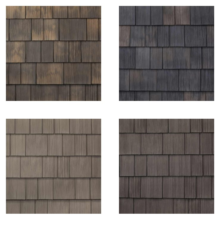 Replace cedar siding with DaVinci hand-split shake siding