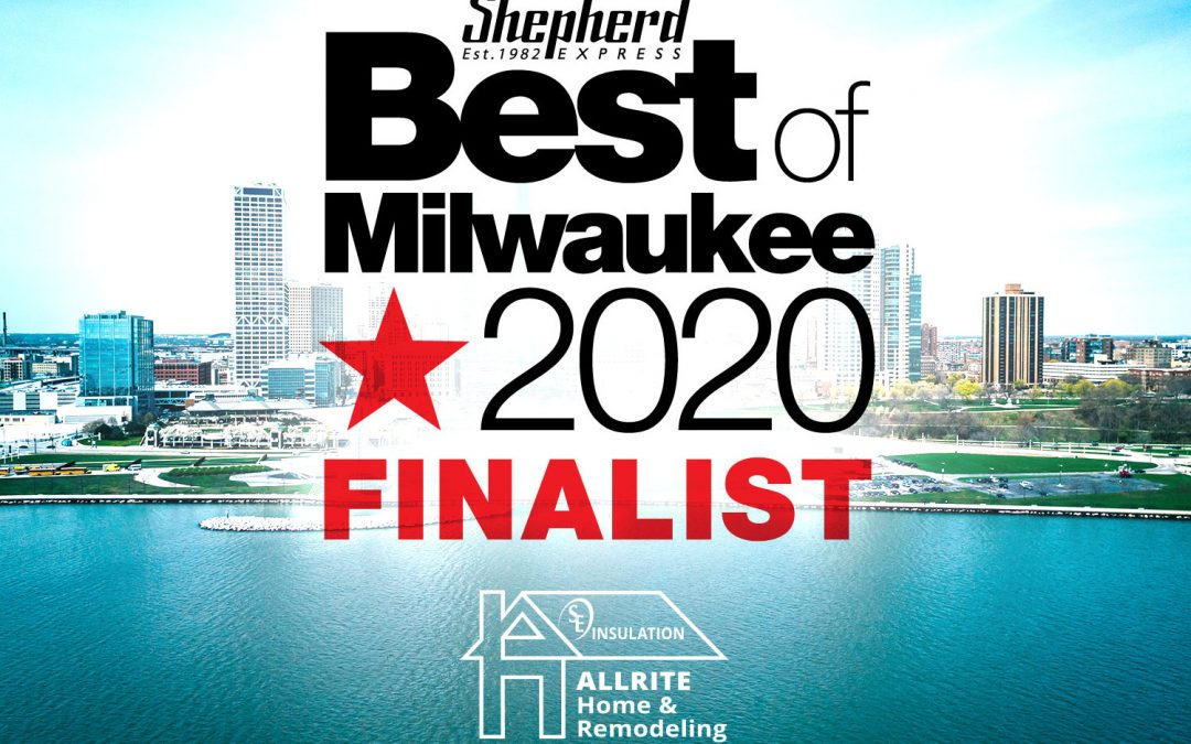 Vote for Allrite in the Best of Milwaukee 2020 Poll: Best Roofer and Best Windows & Siding