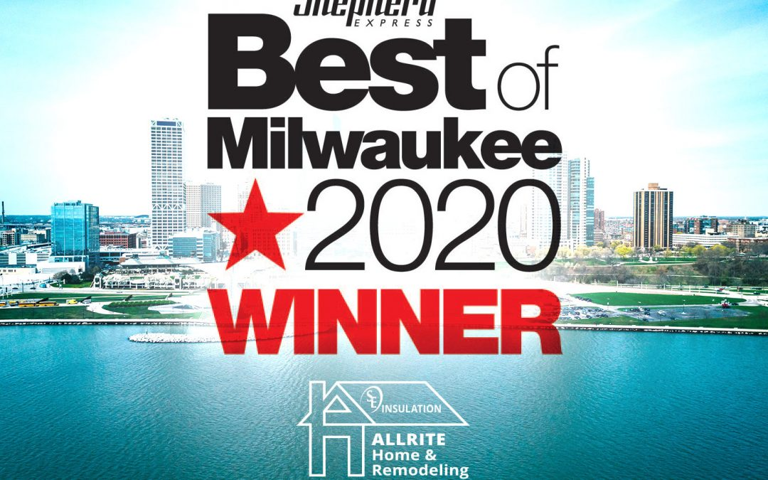 Allrite Named Best Roofer in Milwaukee